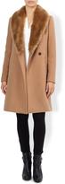 Monsoon Hettie Crombie Coat