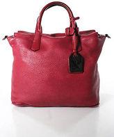 Reed Krakoff Red Leather Medium Atlas Satchel Handbag