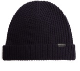 Burberry Waffle-knit wool-blend beanie hat