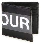 Alexander McQueen Graphic Billfold Wallet
