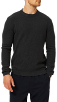 Selected Homme Brandy Waffle Knit Cotton Jumper, Starfish
