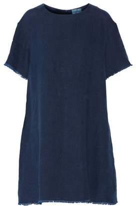 Simon Miller Cody Frayed Cotton Mini Dress