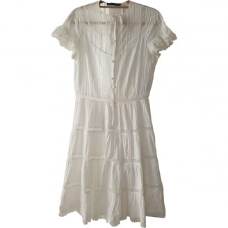 Ralph Lauren White Cotton Dresses
