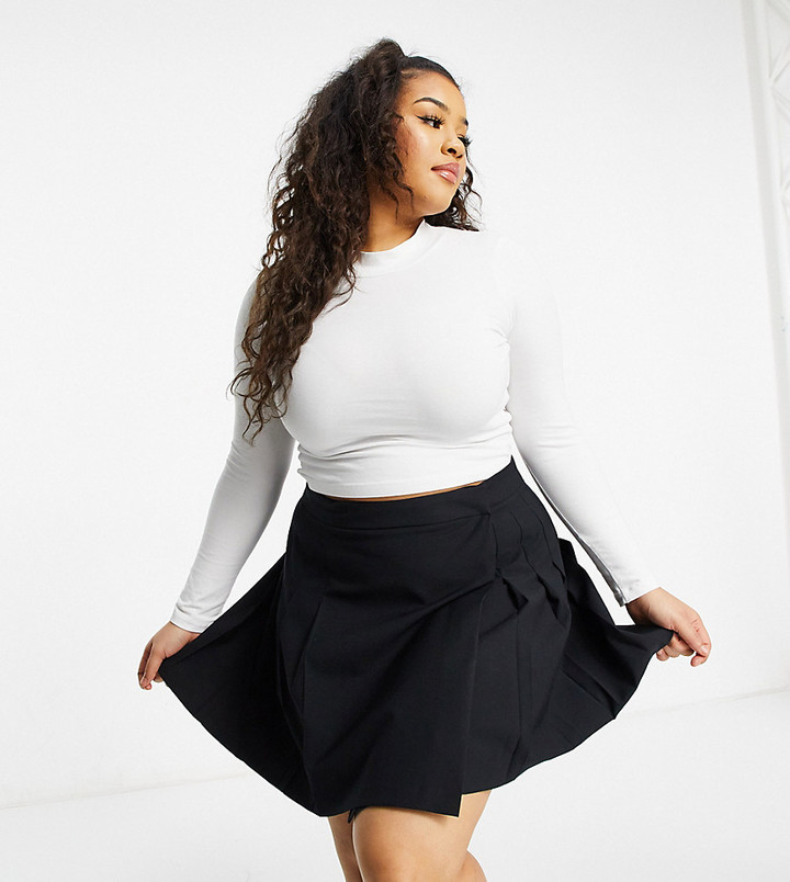 Mini skirts plus size with legs spread Plus Size Mini Skirts Shop The World S Largest Collection Of Fashion Shopstyle
