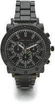 Perry Ellis Black Bolt Case Bracelet Watch