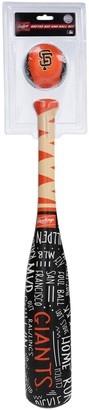 Rawlings Sports Accessories San Francisco Giants Narrative Bat and Baseball Set