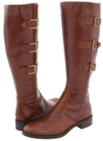 Ecco Hobart Buckle 25 MM Boot (Cognac Riviera Leather) - Footwear