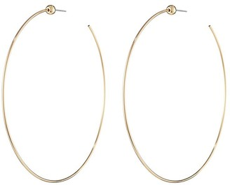 Jenny Bird Icon Hoops Large Gold