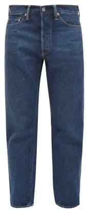 Chimala Distressed-cuff Tapered Jeans - Womens - Denim