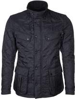 Barbour Internationaltm Ariel Polarquilt Winter Jacket Navy