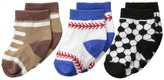 Jefferies Socks Playtime Sports 3-Pack (Infant/Toddler)