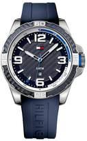 Tommy Hilfiger Men's Brodie Silicone Bracelet Watch, 47.1mm