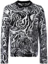 Just Cavalli animal print jumper