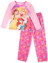 Disney Princess Ariel Belle Aurora Pajama Set, Girls
