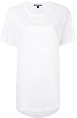Ann Demeulemeester slogan-print T-shirt