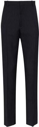 Alexander McQueen pinstripe wool trousers
