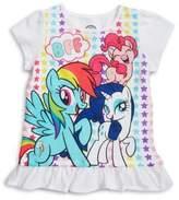 Nannette Little Girl's My Little Pony Ruffle Top