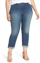 NYDJ Plus Size Women's Jessica Relaxed Boyfriend Jeans