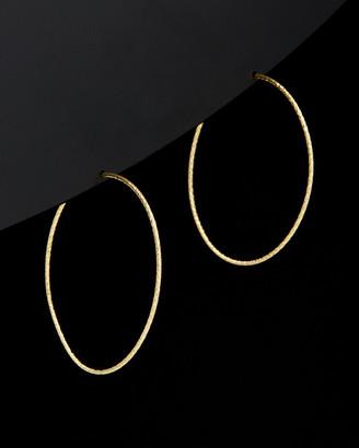 Italian Gold 14K Endless Hoops