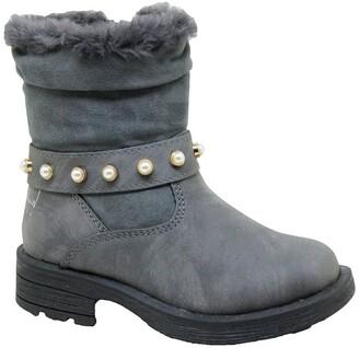 Nicole Miller Studded Scrunch Boot