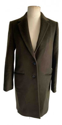 Jigsaw Green Wool Coats