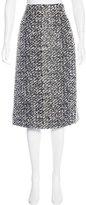 Balenciaga Knee-Length Bouclé Skirt w/ Tags