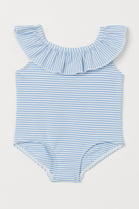 H&M Ruffle-trimmed Swimsuit