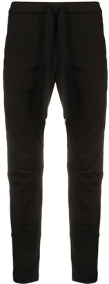 Attachment Drawstring-Waist Skinny Trousers