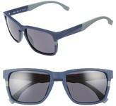 BOSS Men's 57Mm Sunglasses - Blue/ Grey Blue