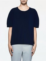 Calvin Klein Platinum Cocoon Short Sleeve Top