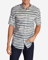 Eddie Bauer Men's Baja Short-Sleeve Shirt - Print