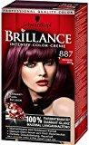 Schwarzkopf Brillance Color Cream / 887 Mahogany Satin