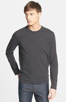 James Perse Long Sleeve Crewneck T-Shirt