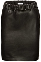 Anine Bing High Waisted Leather Skirt