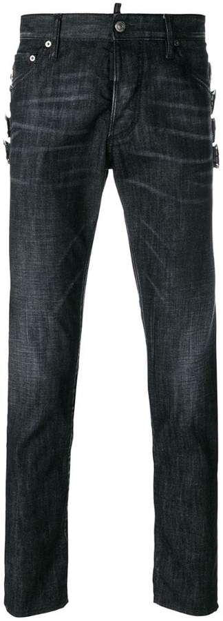 DSQUARED2 Skinny buckle jeans