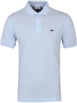 Lacoste L1212 Sky Blue Pique Polo Shirt