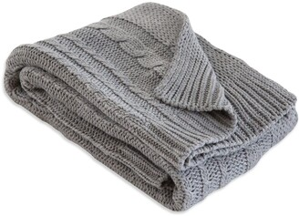 Burt's Bees Cable Knit Organic Baby Sweater Blanket
