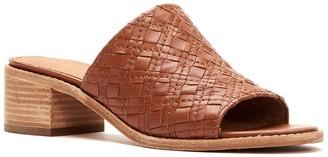 Frye Cindy Woven Block Heel Sandal