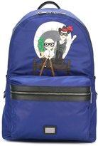 Dolce & Gabbana 'Vulcano' Western Designers patch backpack