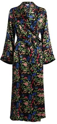 Yolke Anais Floral Robe