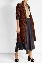 Vanessa Bruno Printed Silk Blend Coat