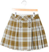 Bonpoint Girls' Plaid Skirt