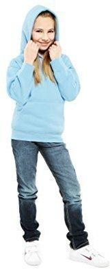 UneekClothing Uneek Clothing-Kids-Childrens Hooded Sweatshirt-300 gsm-11/13 Yrs