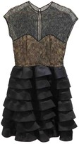 Oscar de la Renta Black Lace Dress for Women Vintage