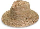 Wallaroo Hat Company Wallaroo Women's Victoria Fedora Sun Hat - 100% Poly-Straw - UPF50+