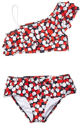 Janie and Jack Printed Two-Piece Swimsuit (Toddler/Little Kids/Big Kids) (Multi) Girl's Swimwear Sets