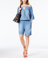 INC International Concepts Off-The-Shoulder Romper, Created for Macy's