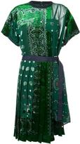 Sacai Bandana Dress