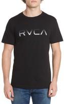 RVCA Men's Big Gradient Logo T-Shirt