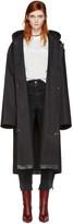 Vetements Black Mackintosh Edition Oversized Rain Coat